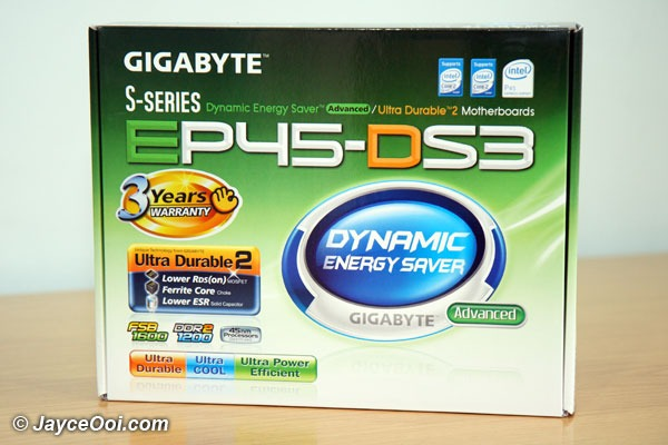 GIGABYTE EP45-DS3 Preview