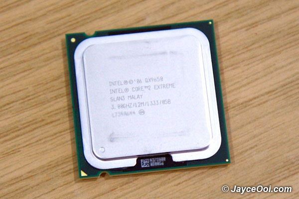 Intel Core2 Extreme quad-core processor QX9650 Preview