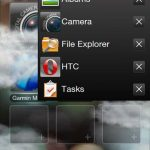Add missing task manager on HTC HD2