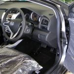 Honda City front and back seats with cover