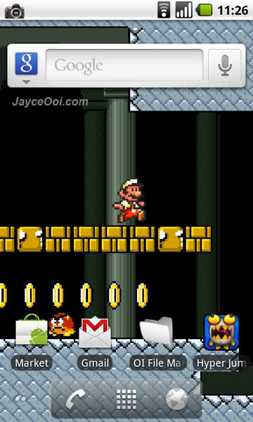 download mario live wallpaper for android