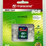 8GB Transcend SDHC Class 4 Card Review