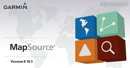 mapsource software version 6.16.3
