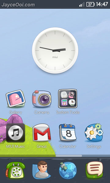 MIUI Cartoon Mob Theme