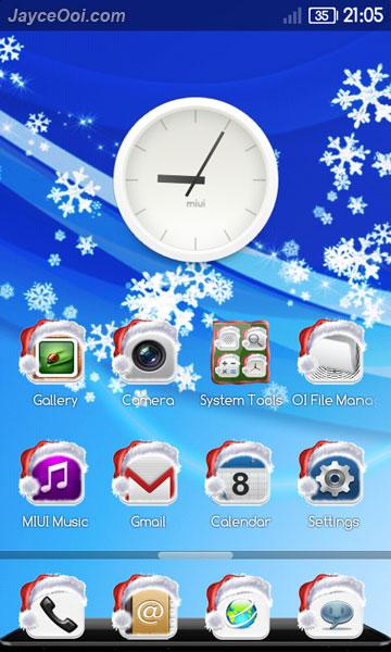 MIUI Christmas Theme