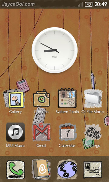 MIUI Fun Crayon Theme