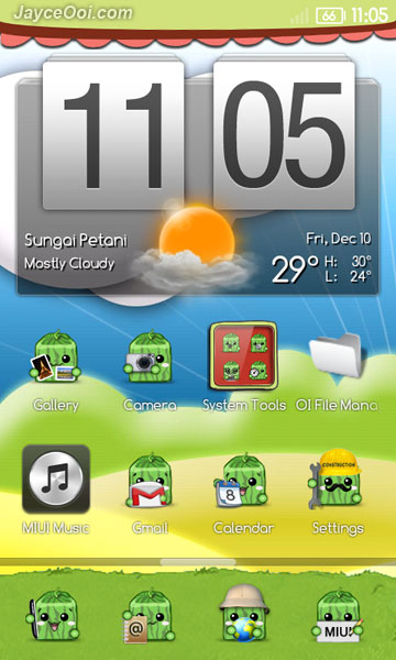 MIUI Watermelon Theme