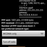 Set 'WCDMA only' with Android Network Application by Philipp Mangelow