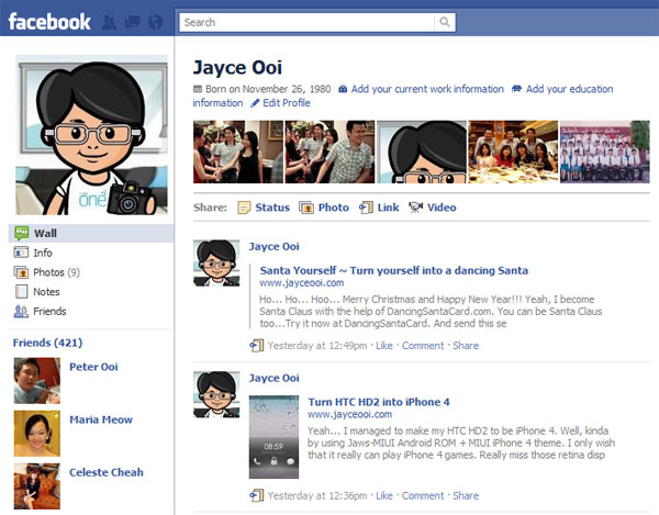 How to get new Facebook Profile Page? - JayceOoi.com