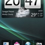 Download imilka Glacier Sense NAND Android A2SD+ ROM for HTC HD2