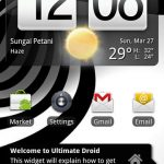 Download Ultimate Droid 3.1.1 NAND RAM Android A2SD+ Zip ROM for HTC HD2