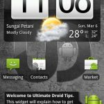 Download Ultimate Droid 3 NAND RAM Android Zip ROM for HTC HD2
