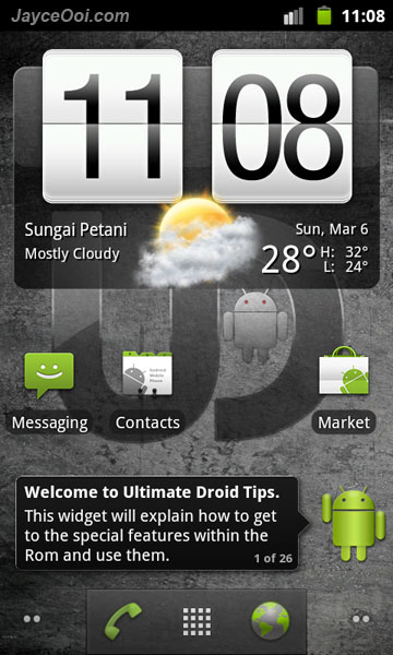 Download Ultimate Droid 3 NAND RAM Android Zip ROM for HTC HD2 - JayceOoi.com