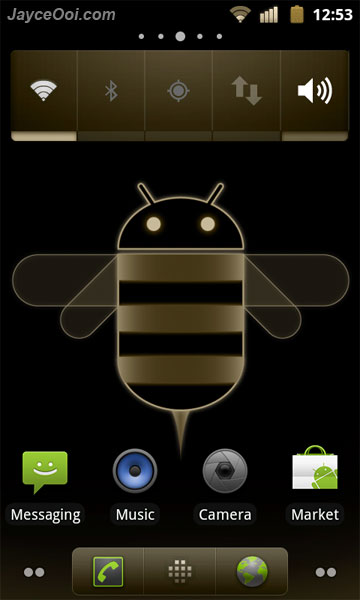 CM7 Honeycream Theme