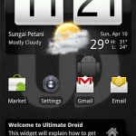 Download Ultimate Droid 3.2.5 NAND Android A2SD+ Zip ROM for HTC HD2