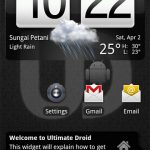 Download Ultimate Droid 3.2 NAND Android A2SD+ Zip ROM for HTC HD2