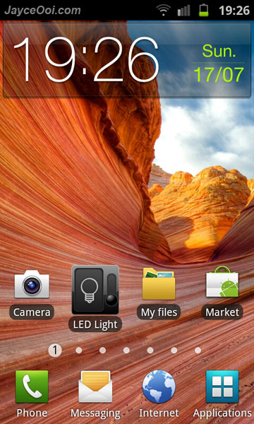 How to take Samsung Galaxy S II screenshot?