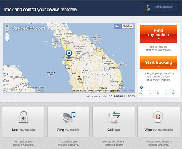 Find your lost samsung mobile device with samsung dive - Samsung dive app ...