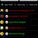 How to backup & restore all apps and settings when upgrade Android ROM?