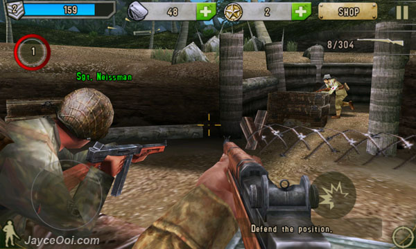 brothers in arms 2 global front hd android free download