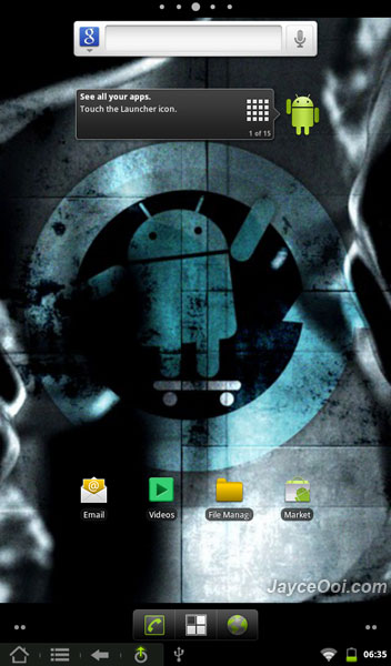CM7 ROM on Kindle Fire