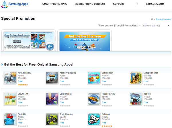 samsung galaxy apps free download