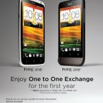 Enjoy 1 to 1 Exchange on HTC One X & HTC One V