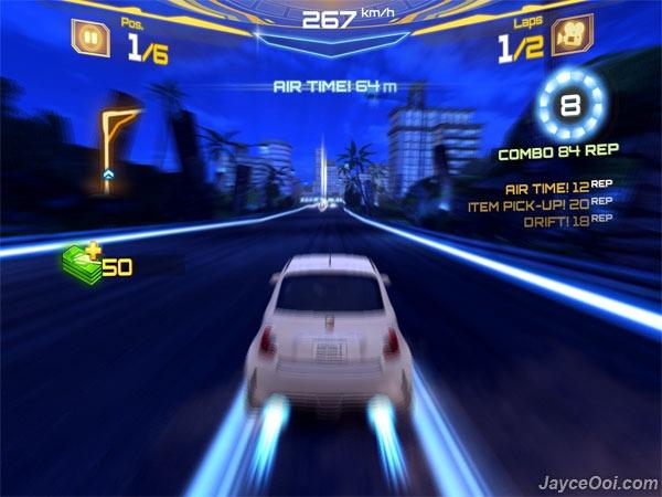 Asphalt 7 Heat Xperia Play Free Download