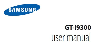 samsung galaxy 3 user manual download