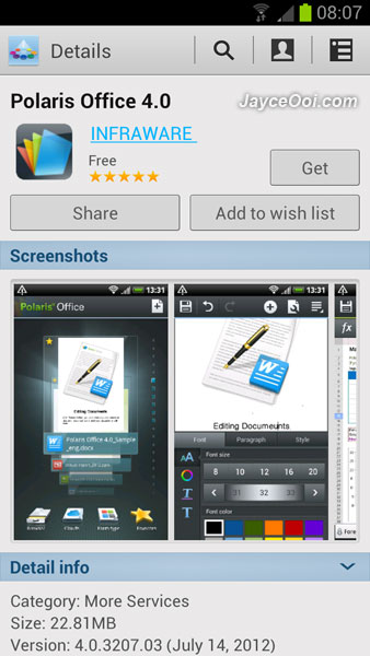Download polaris office 4 0 for android free - Office apps for android free ...