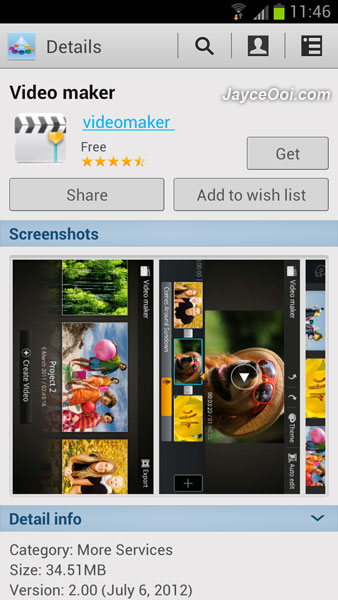 Download video maker for samsung galaxy s3 for Galaxy maker