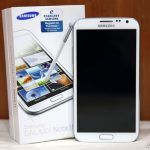 Samsung Galaxy Note 2 in the house