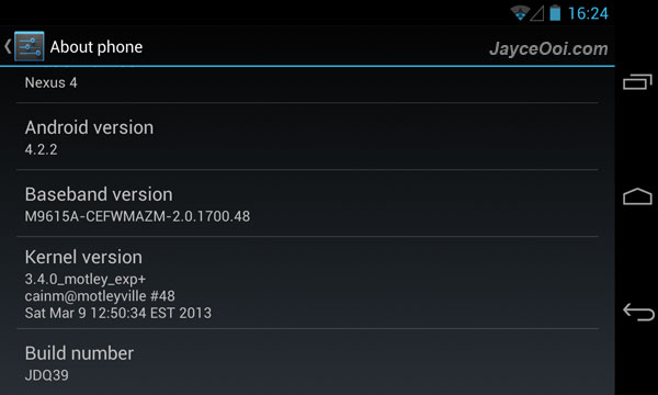 motley kernel for Nexus 4