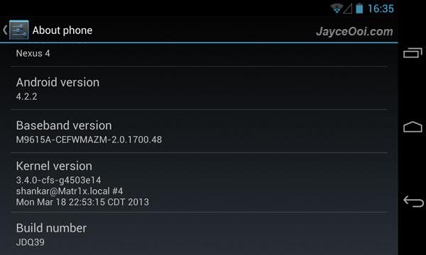 Matr1x Kernel for LG Nexus 4
