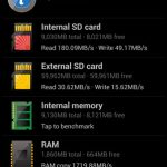 Galaxy S4 storage speed ~ internal NAND vs external SD card