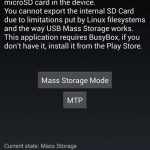 How to enable USB mass storage on Galaxy S4?