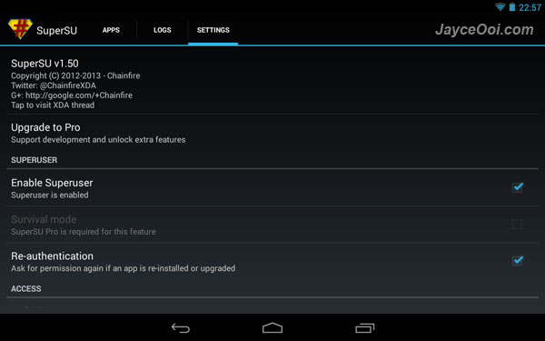 How to root Android 4 3 on Nexus 4, 7 & 10? - JayceOoi com