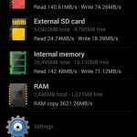 Galaxy Note 3 storage speed ~ internal NAND vs external SD card