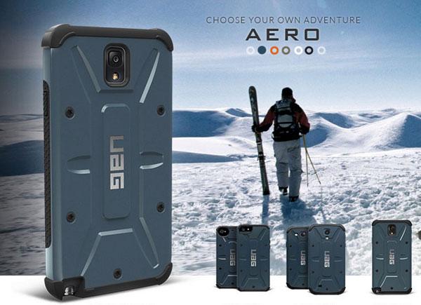 free shipping e8432 6603a Urban Armor Gear Case for Galaxy Note 3 starts shipping now ...