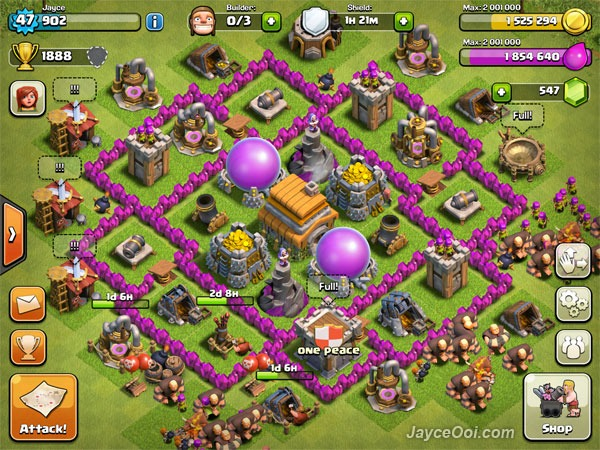 The Best Clash of Clans Town Hall 6 Layout - JayceOoi.com