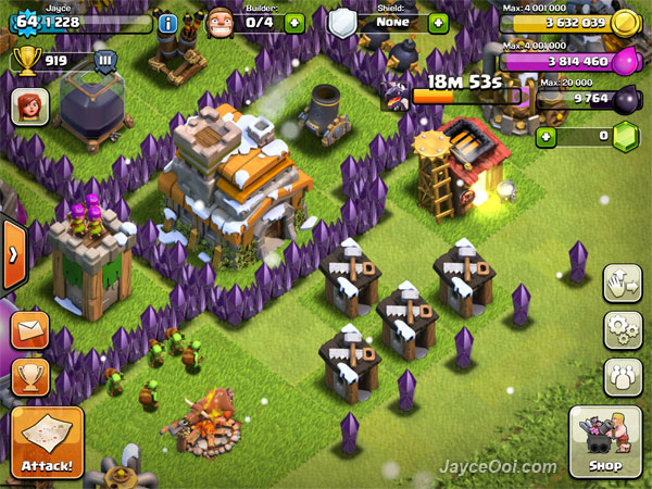 Clan of clash builder