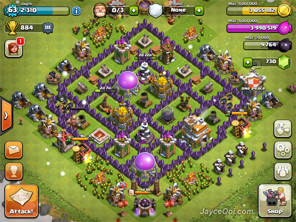 The Best Clash of Clans Town Hall 7 Layout - JayceOoi.com