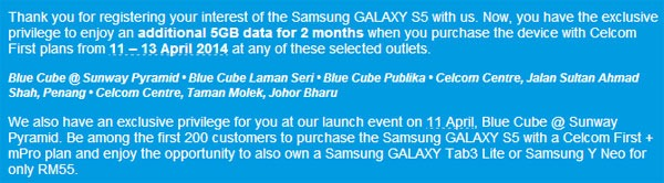 Celcom-Galaxy-S5-Promotion
