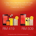 Get Xiaomi Redmi 1S & Redmi Note with free accessory bundle