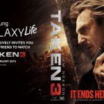 Free Taken 3 movie tickets from Samsung Mobile Malaysia