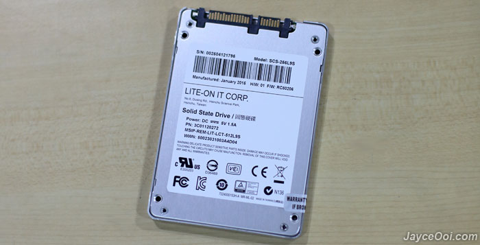 lite on s900 ssd 256gb review   jayceooi
