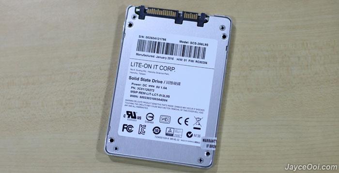 Lite On S900 Ssd 256gb Review Jayceooi Com