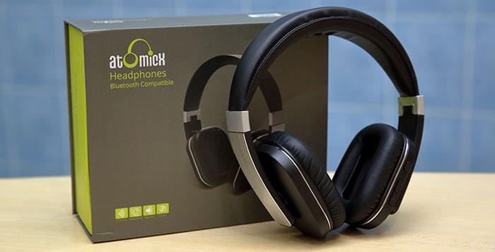 Mini Car Vacuum >> AtomicX S204 Wireless Bluetooth Headphone Review ...
