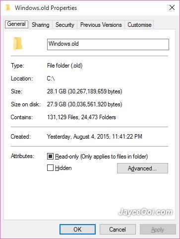 Windows-Old-Folder