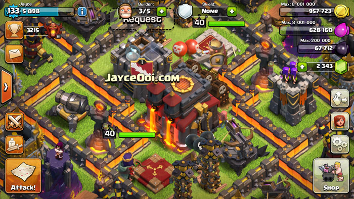 Clash of Clans Level 40 Barbarian King & Archer Queen ...